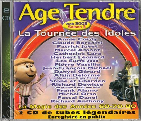 Double CD age tendre saison 3