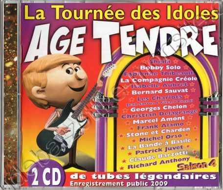 Double CD age tendre saison 4