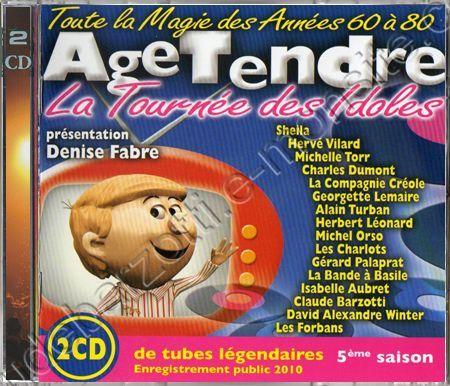 Double CD age tendre saison 5