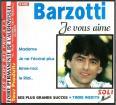 """CD bestof Algérie soli music Claude Barzotti """"je vous aime"""""""