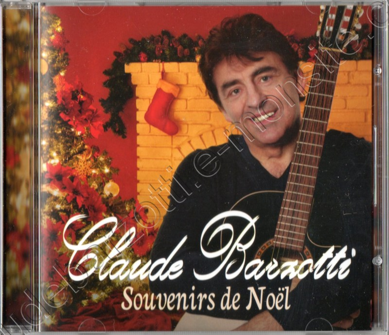 cd album Claude Barzotti chante Noël 2012