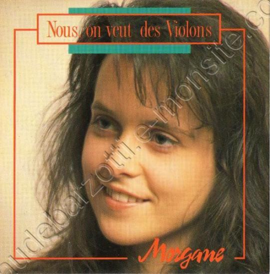 """CD 3 titres Morgane """"nous on veut des violons / Un amour aussi grand / Instrumental Un amour aussi grand"""" 1992"""