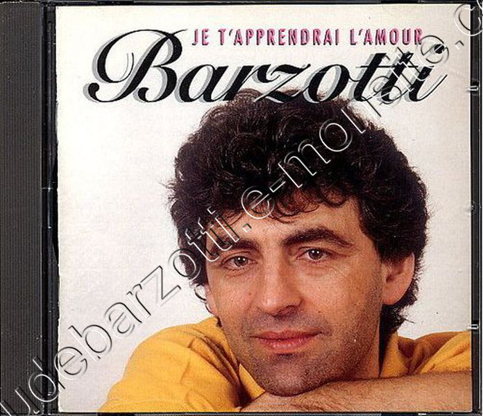 CD album je t'apprendrai l'amour Canada 1996