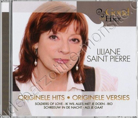 "CD Liliane Saint Pierre (inclus le titre mélodie"" (2010)"