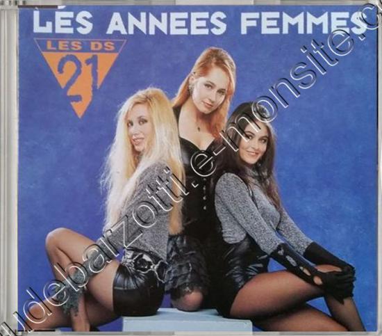 CD Maxi les années femmes (les DS21) 1990