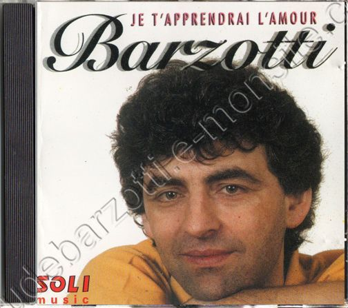CD Album Je t'apprendrai l'amour