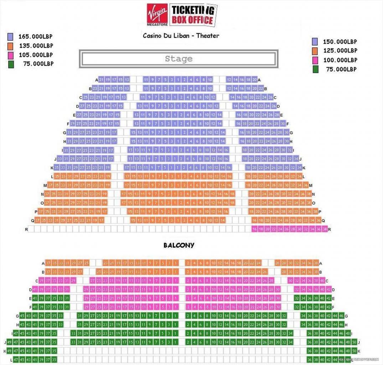 casino du liban Théâtre