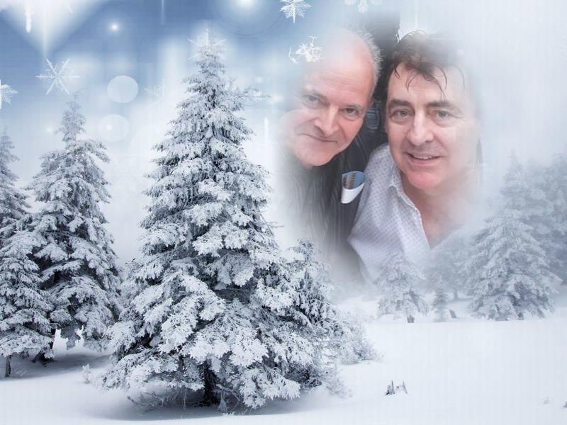 Claude et eric noel neige
