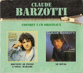 coffret 2 cds originaux ( Madame / Le Rital )