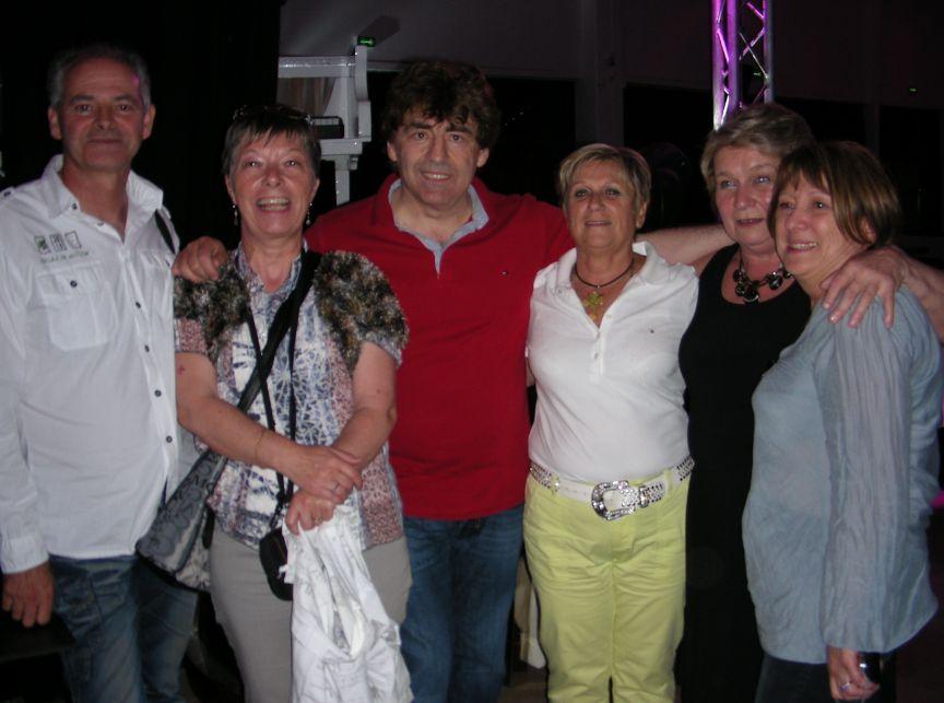 Claude et ses fans du Sud