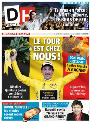 presse DH.be 6 juillet 2015 Claude Barzotti