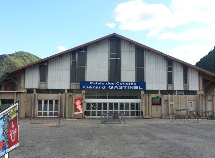 Palais des congres Digne les bains (photo Eric.F)