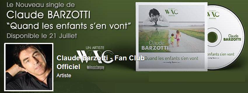fan club officiel Claude Barzotti (facebook)