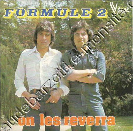 """Formule 2 """"On les reverra / C'est l'ambiance) 1976"""