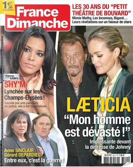 france Dimanche du 13 décembre 2014