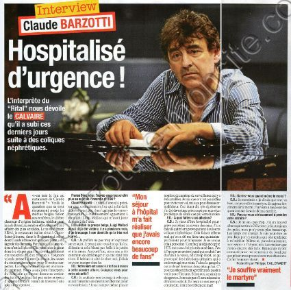 interview Claude barzotti