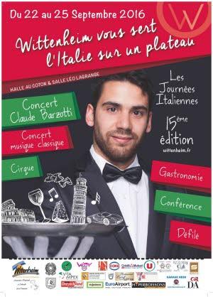 Illustration journees italiennes concert de jean francois valence et claude barzotti