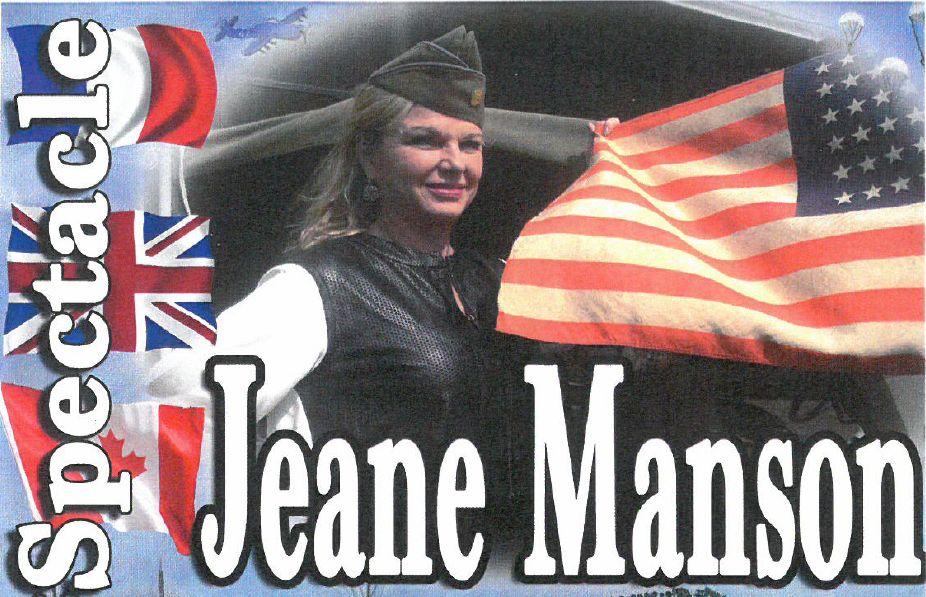 Spectacle Jeane Manson à Tavernes