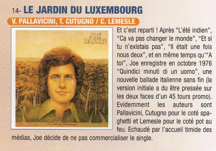 le jardin du Luxembourg / et si tu n'existais pas