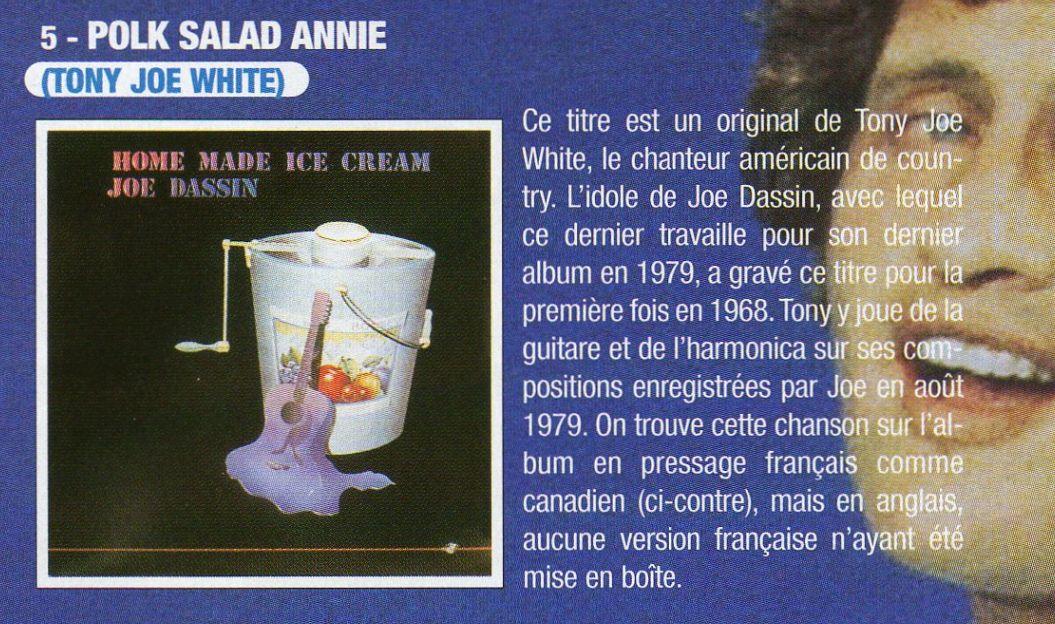polk salad Annie / la vie se chante, la vie se pleure