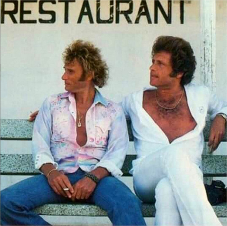 Johnny hallyday et joe dassin 2