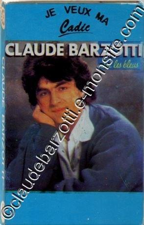 """k7 audio """"J'ai les bleus"""" Cadic CA 829"""