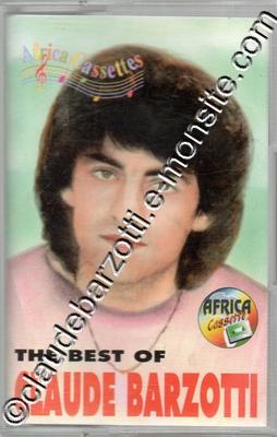 """k7 audio """"Bestof Claude Barzotti"""" Africa Cassettes"""