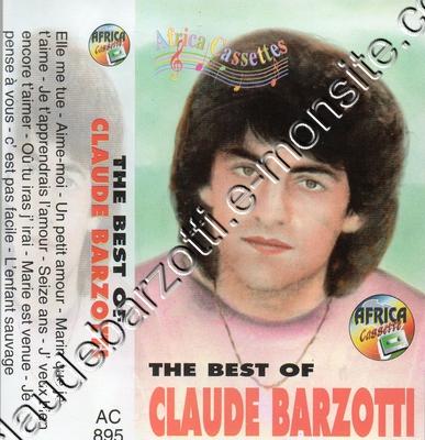 """Bestof Claude Barzotti"" Africa Cassettes"