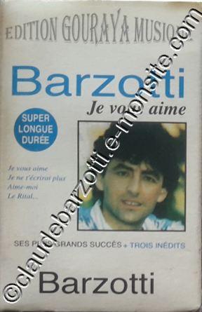 """k7 audio """"je vous aime"""" algérie label Gouray"""