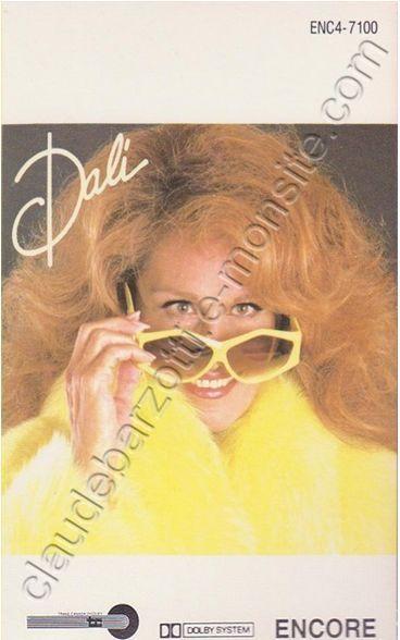 """k7 audio de Dalida """"Encore"""" Canada 1985"""