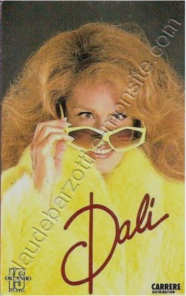 """k7 audio de Dalida """"Dali Pour te dire je t'aime"""" 1984"""