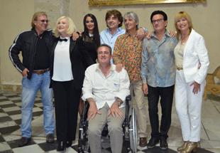 François Valéry, Michèle Torr, stella Mattéoni, Claude Barzotti, Mario d'Alba, Guy Mattéoni, Stone et Romain Vidal
