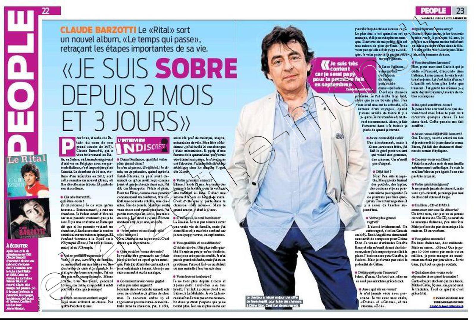 presse le matin suisse 4 juillet 2015