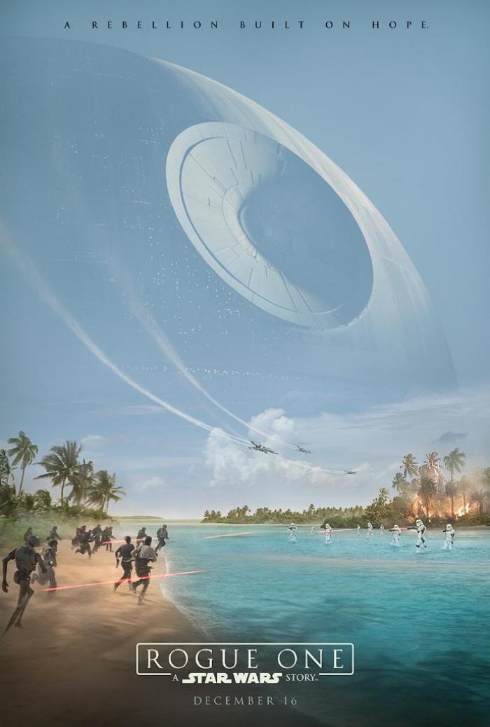 Le nouveau poster de star wars rogue one
