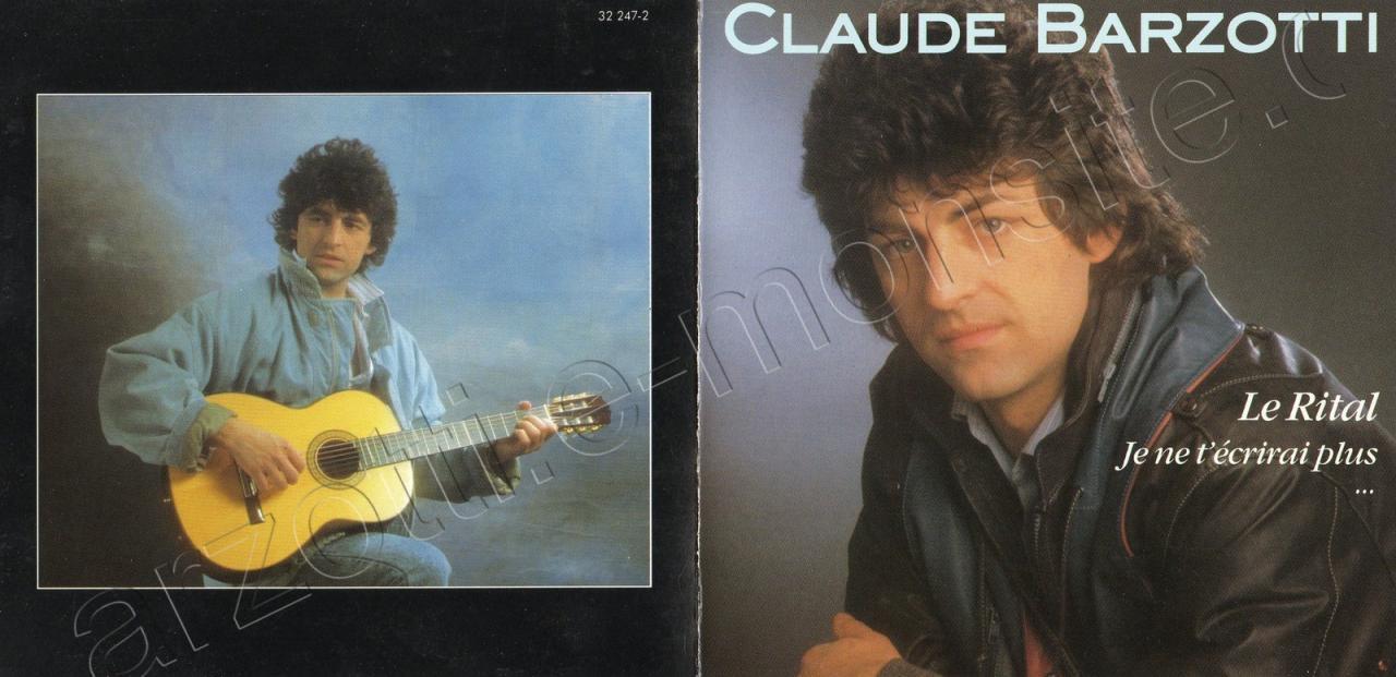 Jaquette CD le Rital disques Déesse 1984