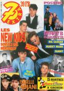 7 extra N° 8 du 19 février 1992 pages 15 et 18 (double pages poster) Poster