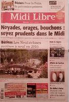 Midi libre 27 juillet 2013 page 1