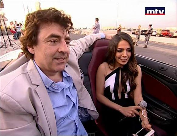 Claude barzotti interview MTV Liban