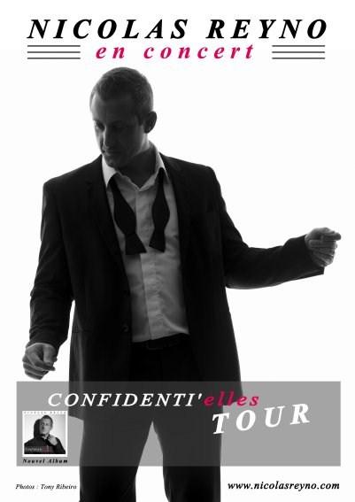 Nicolas reyno confidentielles tour 2
