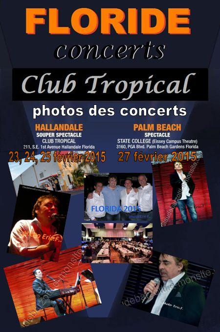 photos concerts Floride 2015