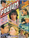 PODIUM HIT N° 142 de décembre 1983 page 22 (1/2 page, 1 photo) paroles du Rital