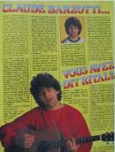 PODIUM HIT N° 154 de décembre 1984 page  (1 page)  Vous avez dit Rital