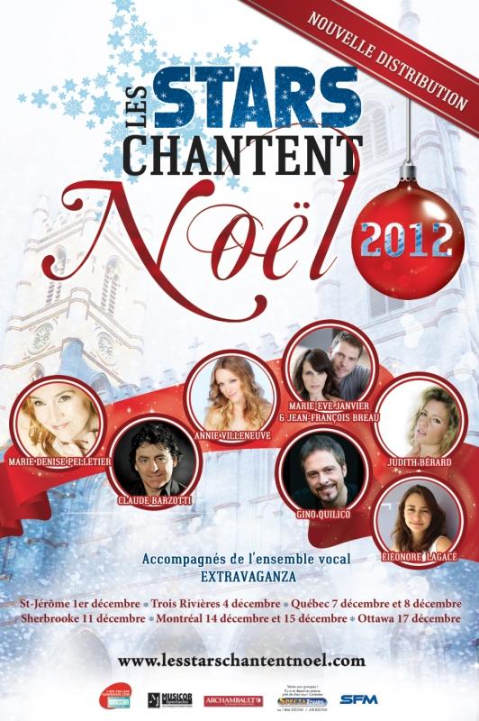 Les stars chantent Noël au Canada