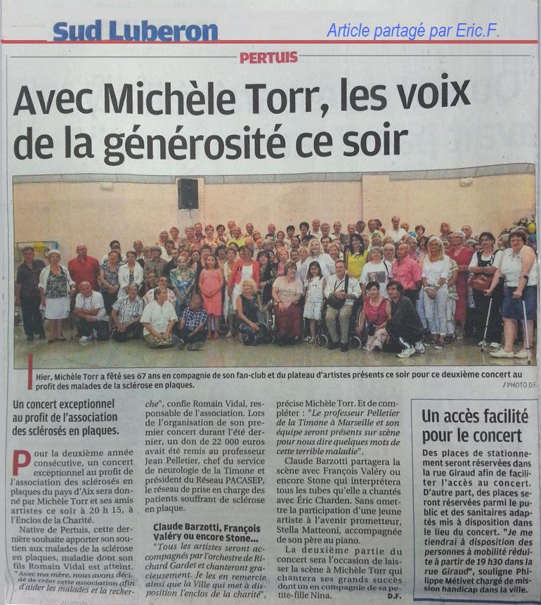 article de presse SEP Pays d'Aix 8 juin 2014