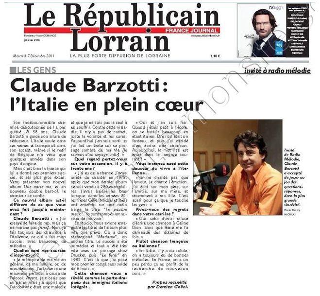 Presse republicain lorrain