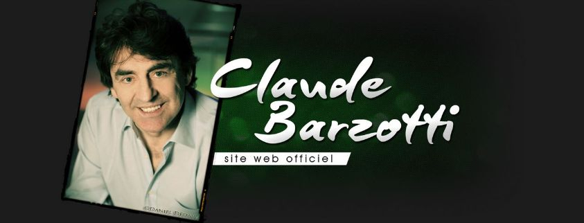 site officiel de Claude Barzotti