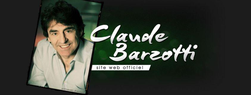 site officiel de Claude Barzotti