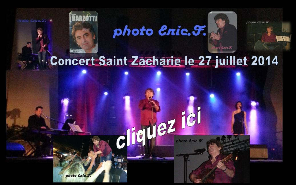 photos du concert ICI