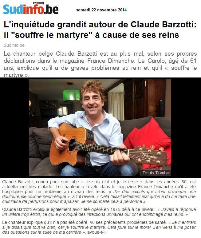 sud info Claude Barzotti