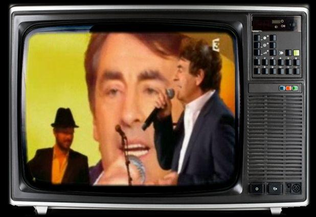 Claude barzotti à la télé